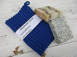 Úžitkový textil - Háčkovaný,bavlnený uterák - 10712765_