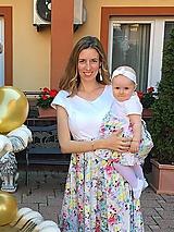 Šaty - Šaty na dojčenie LET´S CELEBRATE - 10715080_