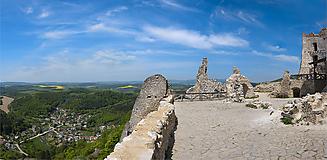 Fotografie - Čachtice (panoráma) - 10714269_