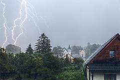 Fotografie - Letná búrka - 10714273_
