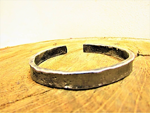 Náramky - kovaný šperk - 10714786_