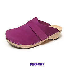 Obuv - pikpoki magenta - 10714572_