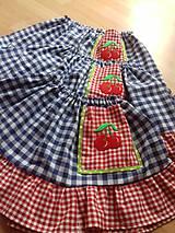 Detské oblečenie - Retro detská suknička - 10713864_