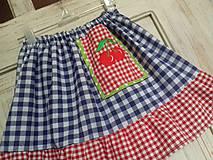 Detské oblečenie - Retro detská suknička - 10713866_