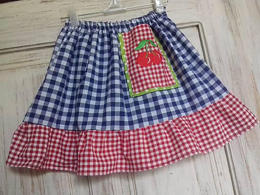 Retro detská suknička