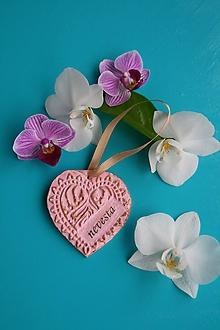 Dekorácie - Srdce XIV. menovka - 10715826_