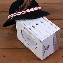Krabičky - Drevený fotoalbum Folk ♥ - 10716568_