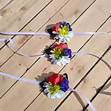 Náramky - Folklórne svadobné náramky - 10717262_