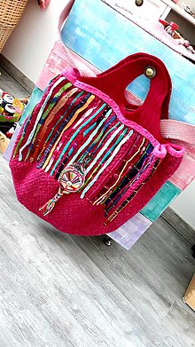 Veľké tašky - Mega taška etno show - 10716058_