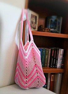 Nákupné tašky - Taška v ružových tónoch - 10717344_