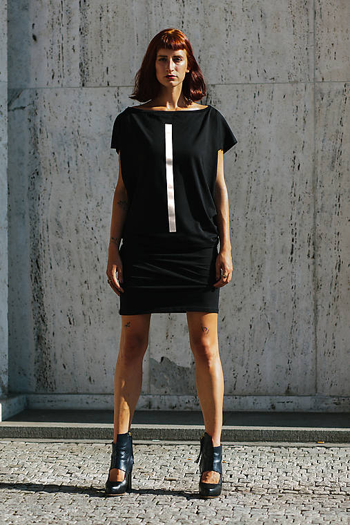 Šaty - FNDLK úpletové šaty 390 TqL - 10716205_