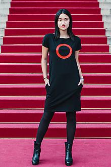 Šaty - FNDLK úpletové šaty 387 RKkL - 10716125_