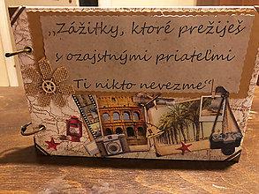 """Papiernictvo - Cestovateľský album - """"Zážitky"""" - 10715517_"""