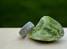 Prstene - Prsteň z jelenieho parožia a opálu - 10715401_