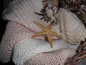 Úžitkový textil - Kozmetický uteráčik- žinka. - 10715497_