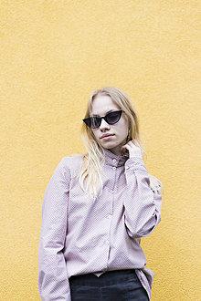 Košele - Ružová košeľa bodkovaná - 10716295_