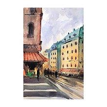 Obrazy - Svetlo v meste II - 10716396_