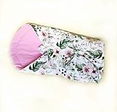 Textil - Zavinovačka kvetinový sen - 10717610_
