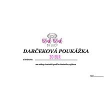 Darčekové poukážky - Darčeková poukážka v hodnote 30 eur. - 10717747_