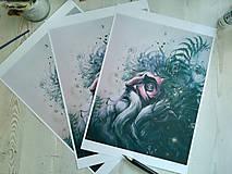 Obrazy - Faunova prosba• print - 10717077_
