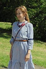 Šaty - Šaty na dojčenie - MODRÝ FOLKLÓR - 10716938_