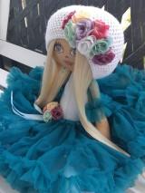 Hračky - Látková bábika - 10717934_