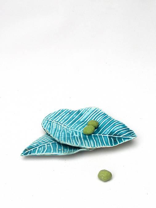 tanier list klasik tyrkysový