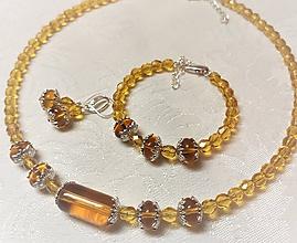 Sady šperkov - Sada LESNÝ MED - 10715142_