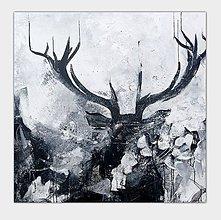Obrazy - Vysoká zver, 100x100 - 10716265_