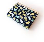 Peňaženky - Peňaženka s priehradkami Dubové lístie - 10716835_