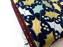 Peňaženky - Peňaženka s priehradkami Dubové lístie - 10716837_