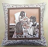 Úžitkový textil - Povlak na vankúš - Malé mamy - 10716279_