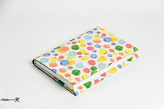Papiernictvo - Obal na knihu otvárací - machule - 10716796_