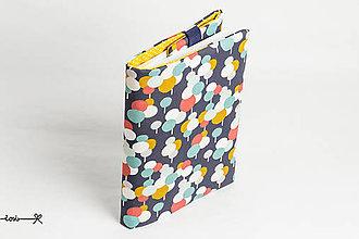Papiernictvo - Obal na knihu otvárací - balóny - 10717111_