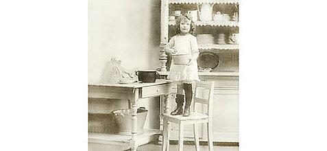"""Papier - Servítka """" Vintage malá kuchárka"""" - 10717094_"""
