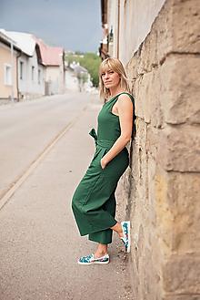 Iné oblečenie - Ľanový overal - 10720078_
