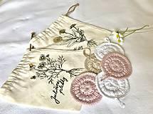Úžitkový textil - Set tampónov v praktickom vrecúšku - 10718896_