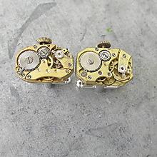 Šperky - LUXUSNÍ MANŽETOVÉ KNOFLÍČKY - strojky s korunkou - 10719260_