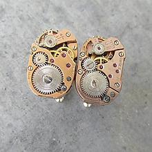 Šperky - LUXUSNÍ MANŽETKY - RŮŽOVO-ZLATÉ, SWISS MADE - 10719279_