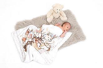 Textil - Letná prikrývka ZVIERATKÁ - 10719823_