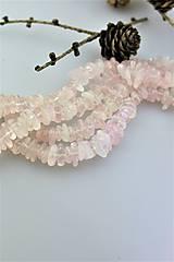 ruženík korálky - ováliky-plátky tromlované
