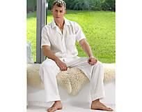 Pyžamy a župany - Lotus - dlhé nohavice - 10718141_