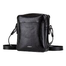 Tašky - Kožená pánska taška ZMEJSS - čierna - A5 - 10719674_