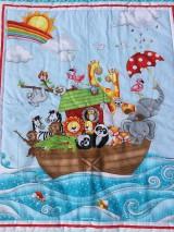 """Textil - """"ZOO na mori"""" patchworkový prehoz - 10718916_"""