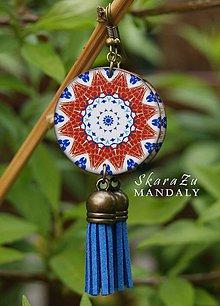 Náušnice - Mandala Iznik - 10720044_
