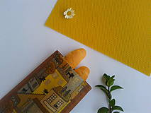 Úžitkový textil - Voskované desiatové vrecúško Paríž (Tmavo hnedé) - 10720153_