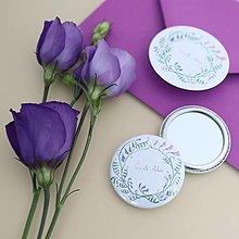 Darčeky pre svadobčanov - Darček pre hostí - zrkadielko - 10719293_