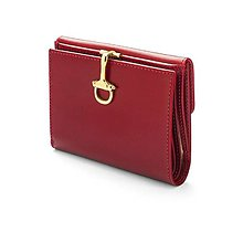 Peňaženky - Lady Brass peňaženka (Bordová) - 10718103_