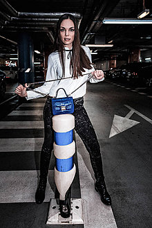 Kabelky - Lady SHPERKA Croc (Modrá) - 10718273_