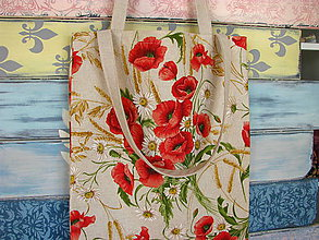 Nákupné tašky - Taška pro Makovou panenku - 10718514_